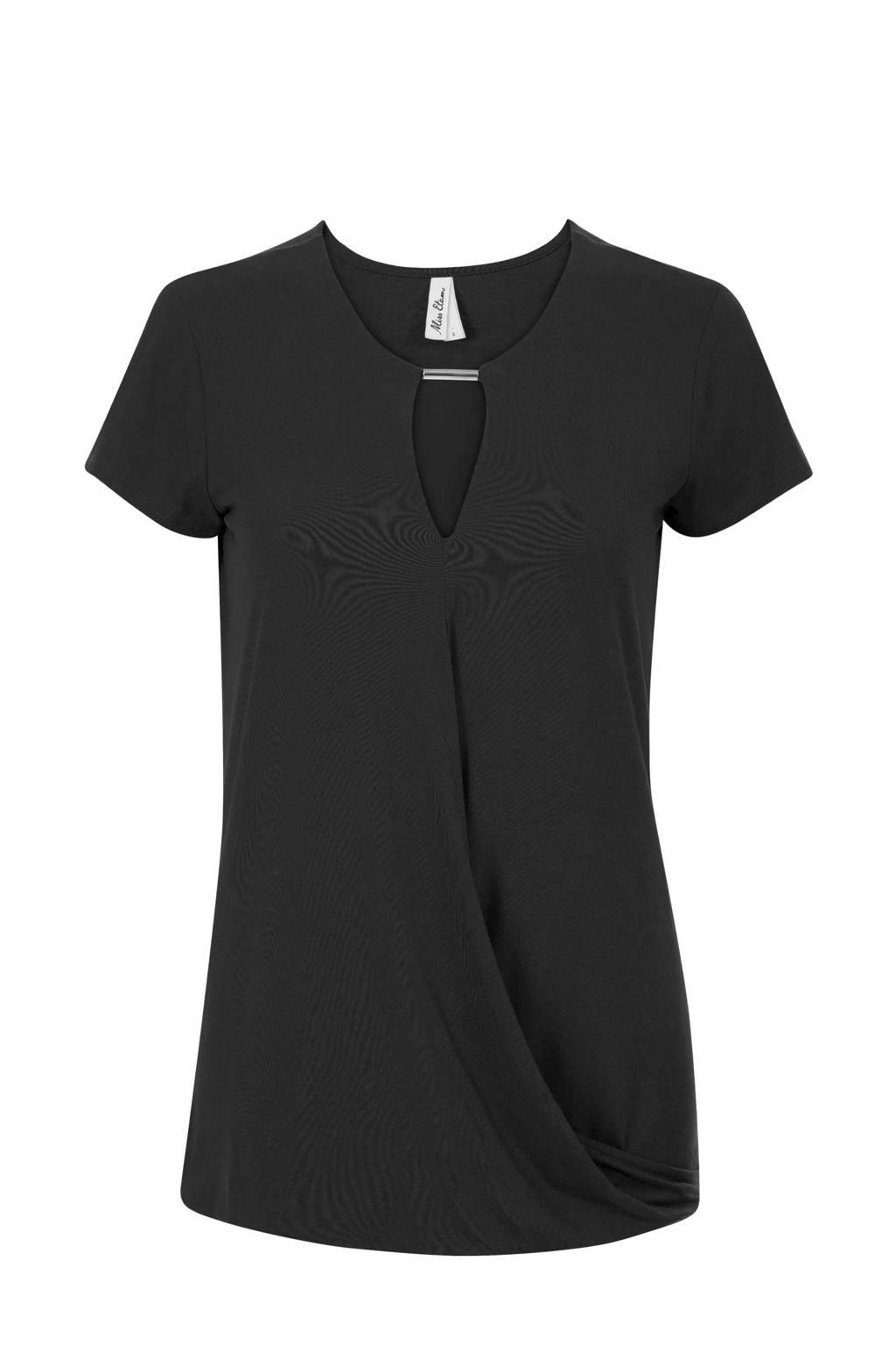 Miss Etam Regulier T-shirt zwart, Zwart