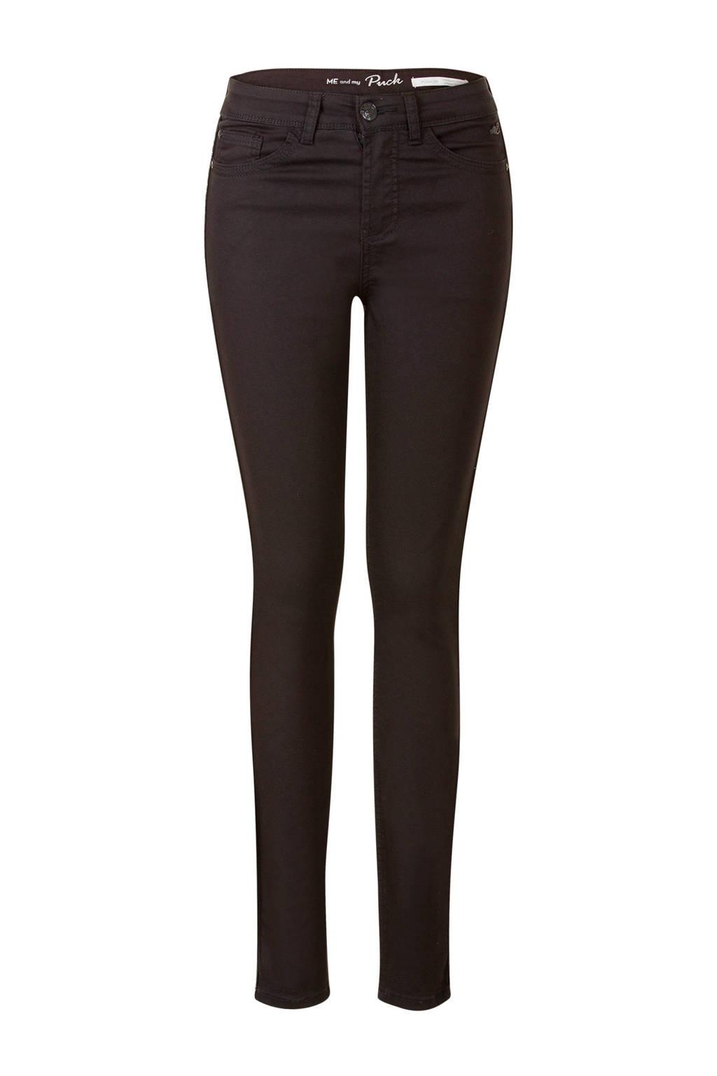 Miss Etam Lang broek met zijstreep, Zwart