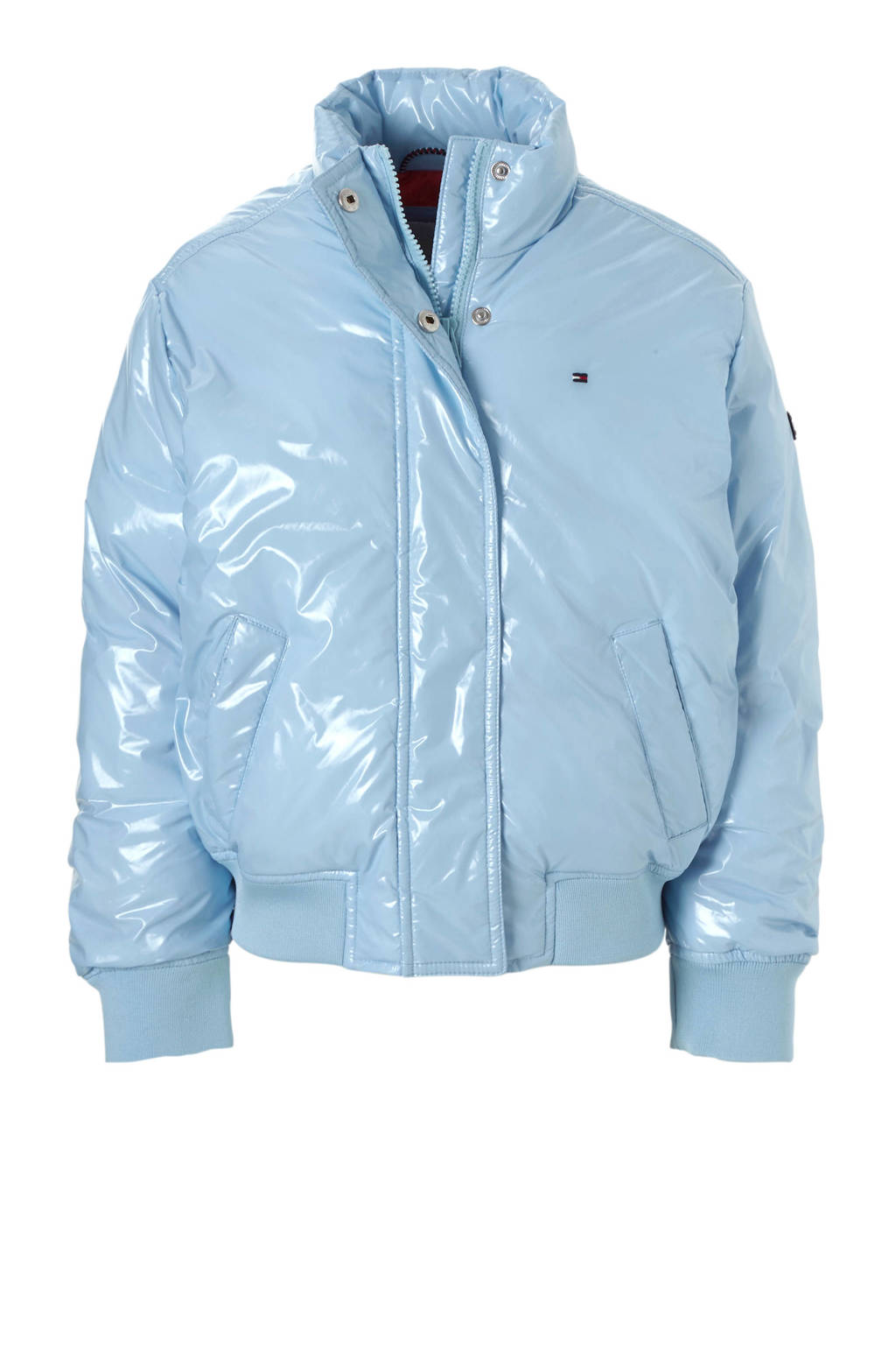 Tommy Hilfiger lak tussenjas lichtblauw, Lichtblauw