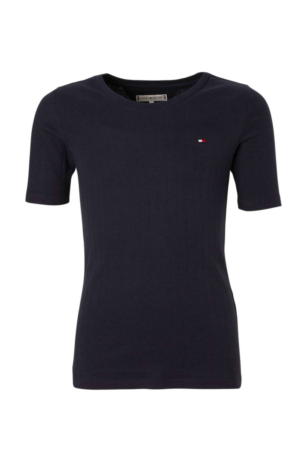 Tommy Hilfiger T-shirt donkerblauw, Donkerblauw
