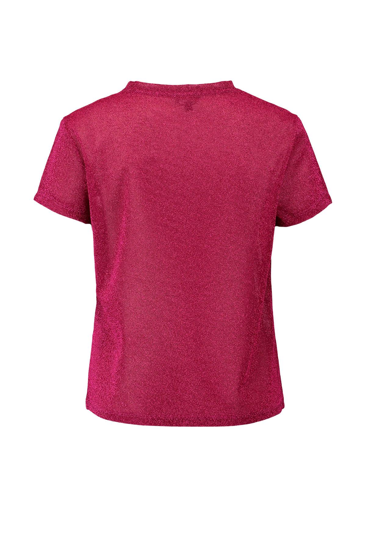 Beste CoolCat glitter top roze | wehkamp XY-38