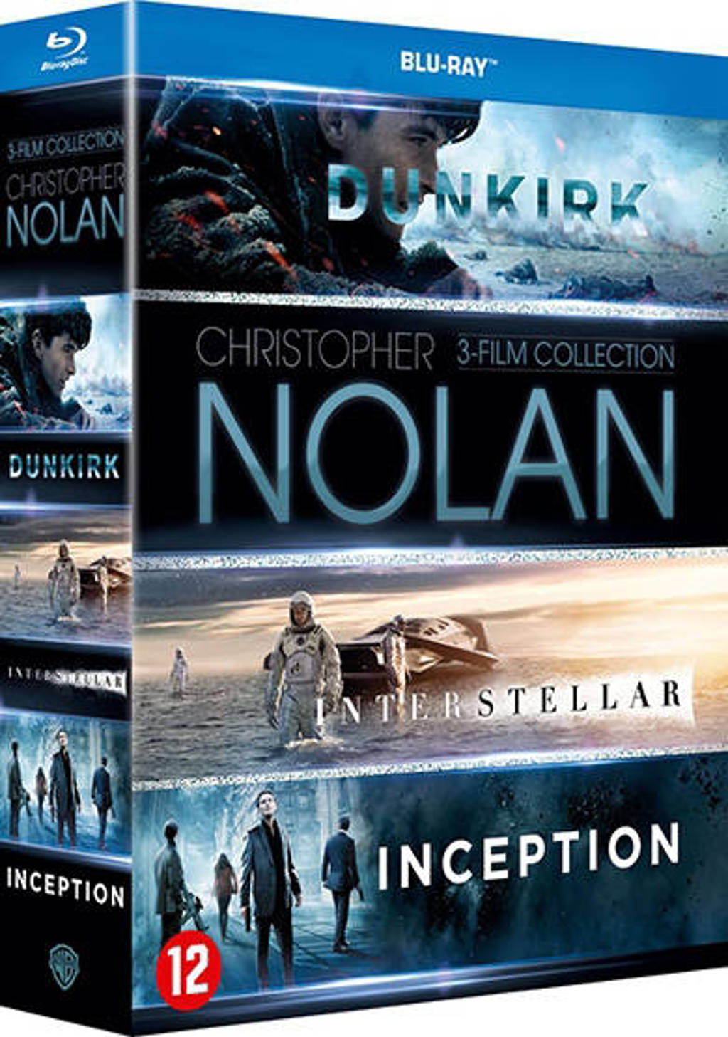 Christopher Nolan box (Blu-ray)