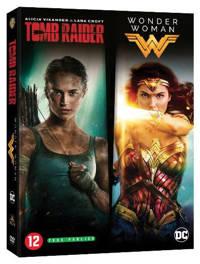 Tomb raider + Wonder woman (DVD)