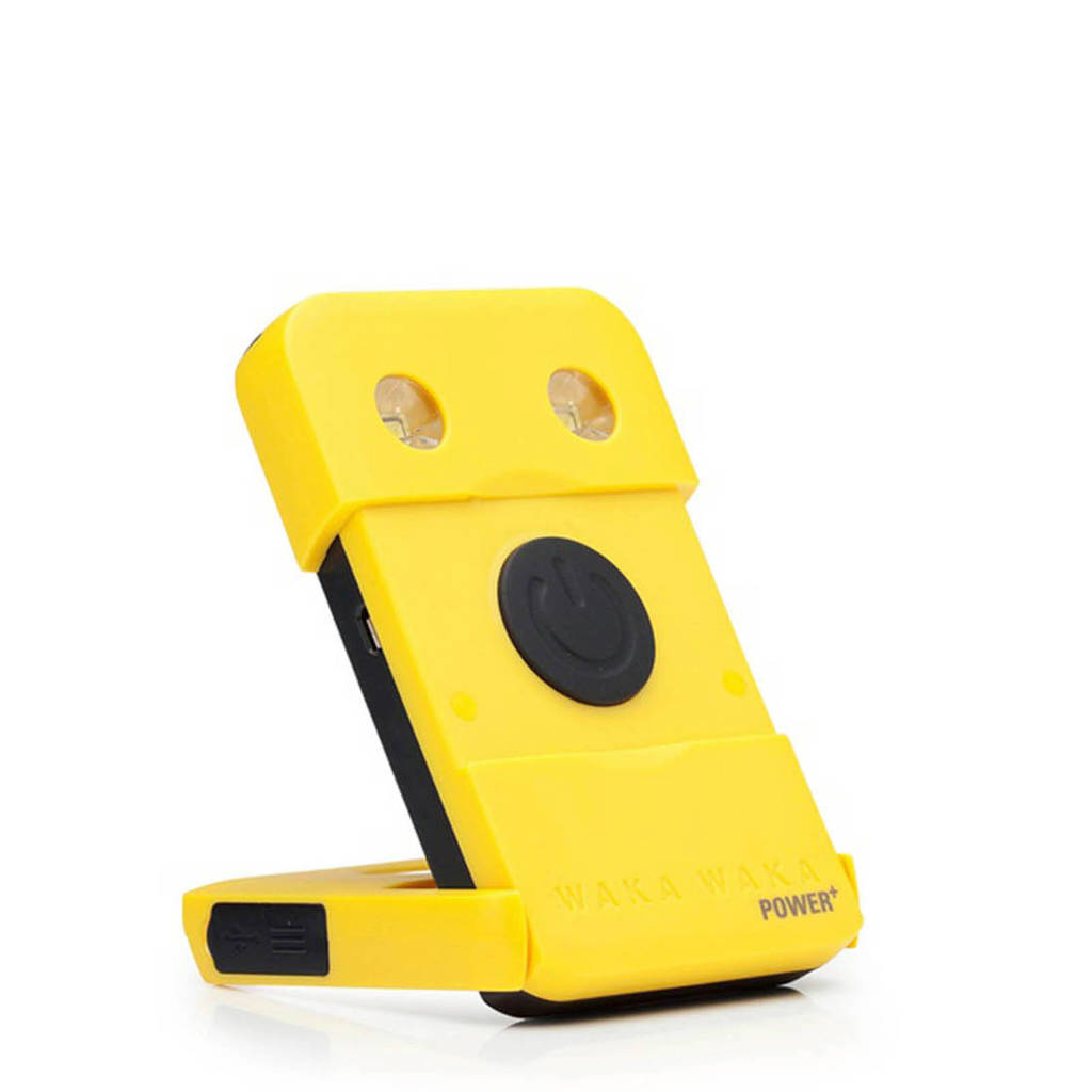 Wakawaka Power+ powerbank 3000 mAh, Geel