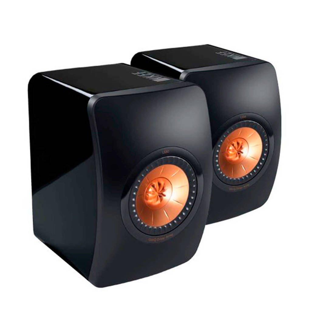 KEF  speaker zwart, Zwart