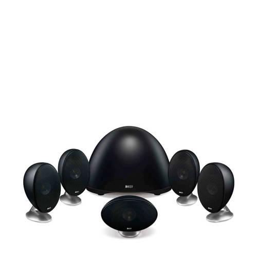 KEF surround speakers zwart kopen