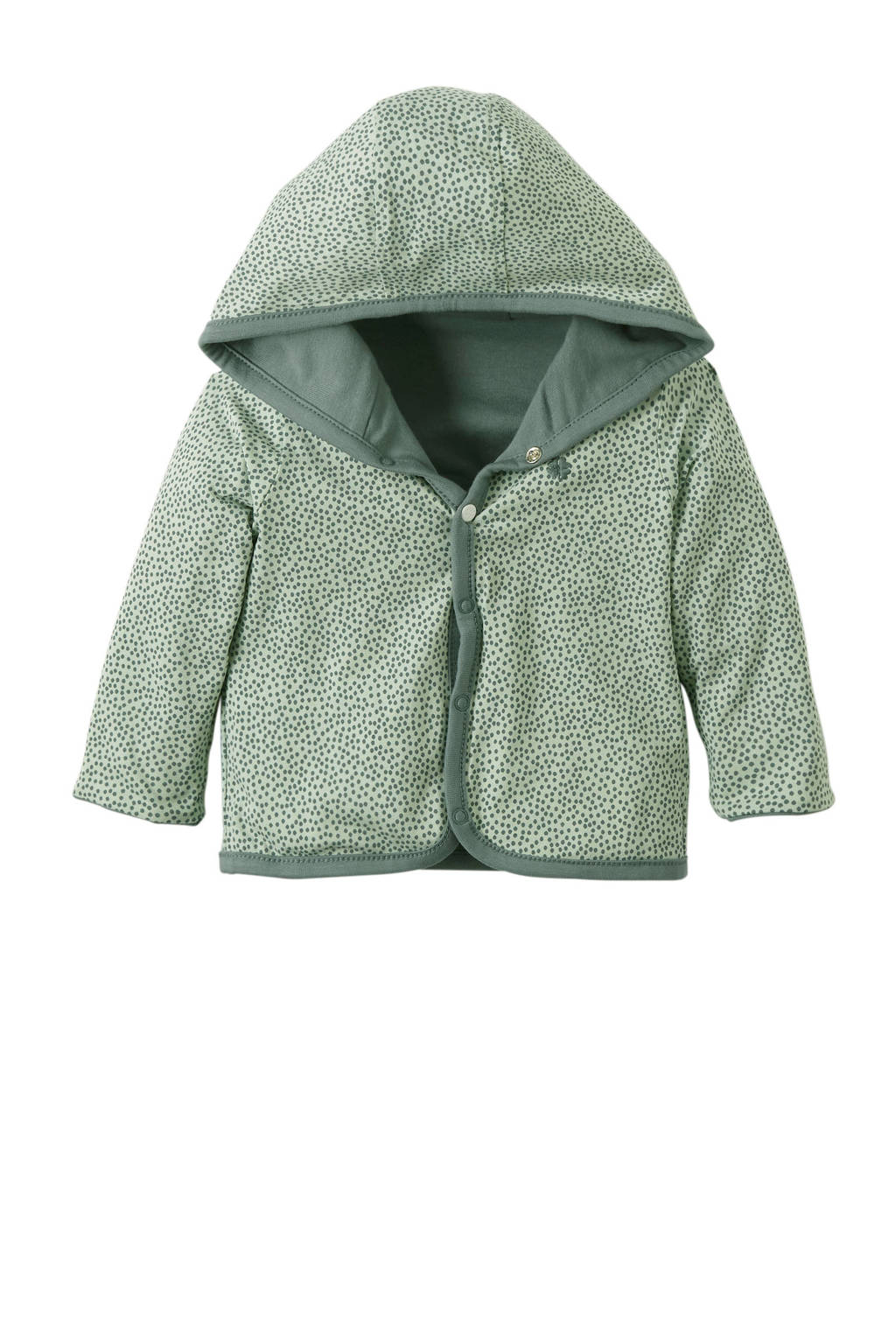 Noppies newborn baby vest Haye, Mintgroen