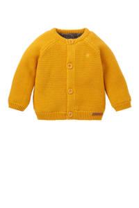 Noppies newborn baby vest Lou, Okergeel