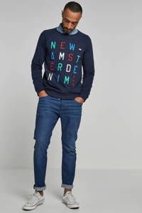 JACK & JONES JEANS INTELLIGENCE slim fit jeans Tim blue demin, Blue denim