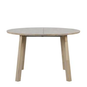 ronde uitschuifbare eettafel Lange Jan 120-200 cm
