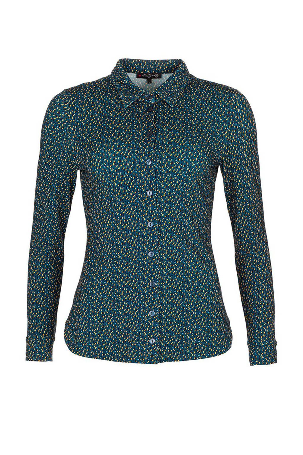 petrol blouse dames