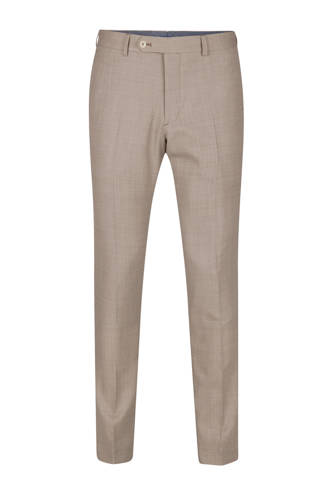 Cutler slim fit pantalon beige