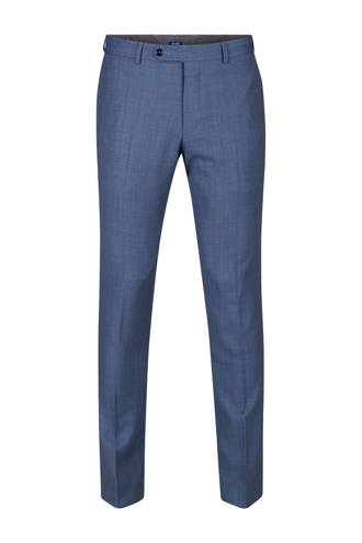 Medley slim fit pantalon van wolmix