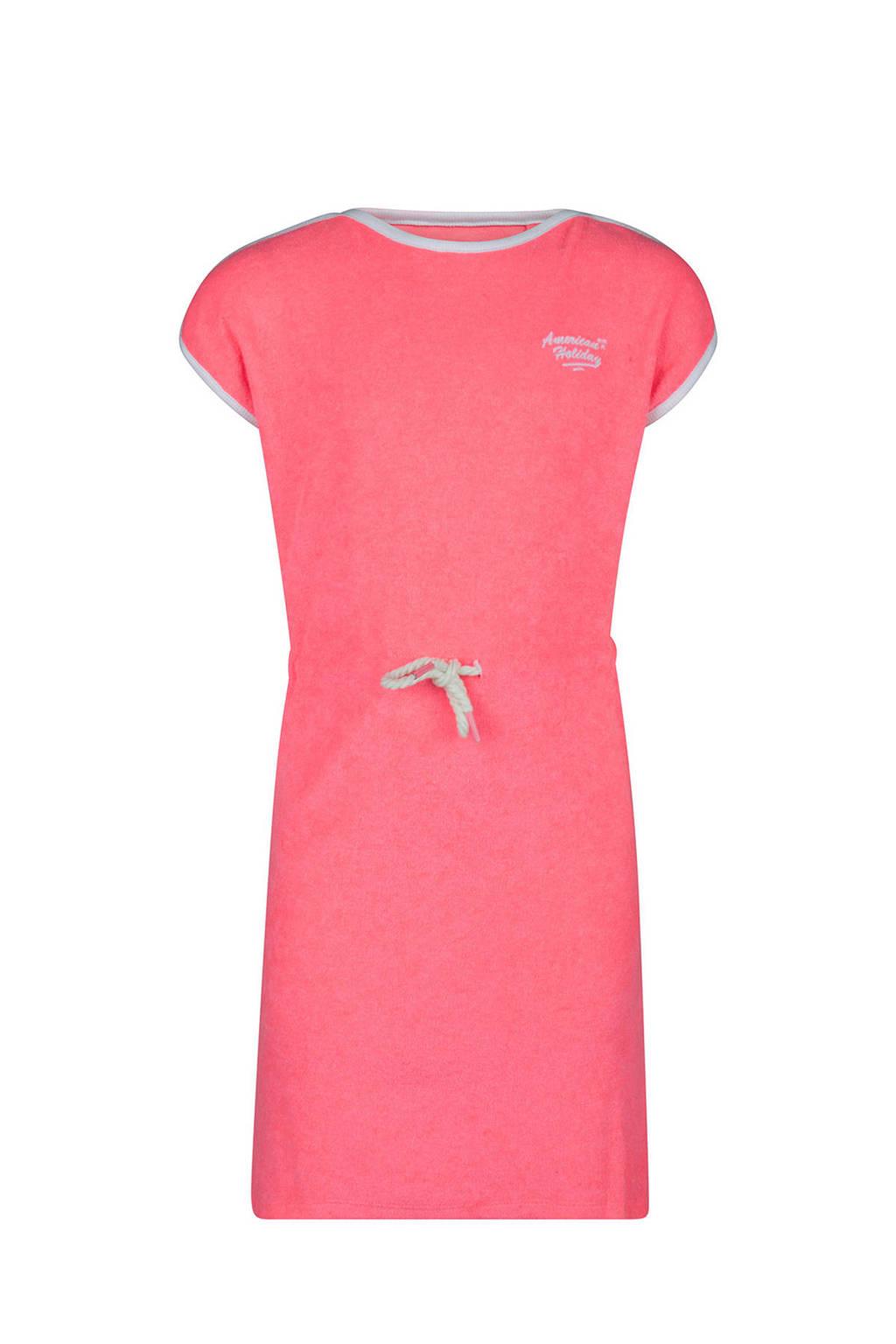 WE Fashion badstof jurk roze, Roze