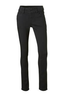 The Denim low waist skinny jeans zwart