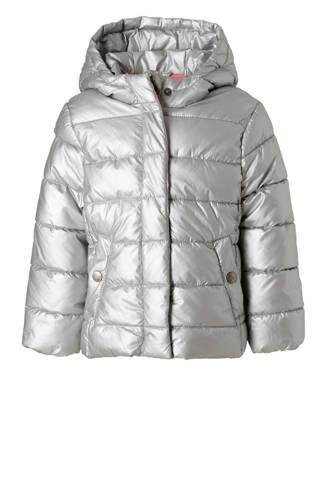 Palomino metallic winterjas zilver