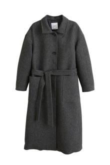 lange coat grijs