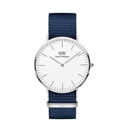 Daniel Wellington Bayswater Horloge 40 mm Zilver
