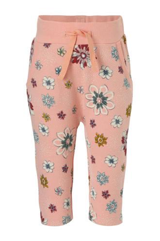 broek met bloemenprint