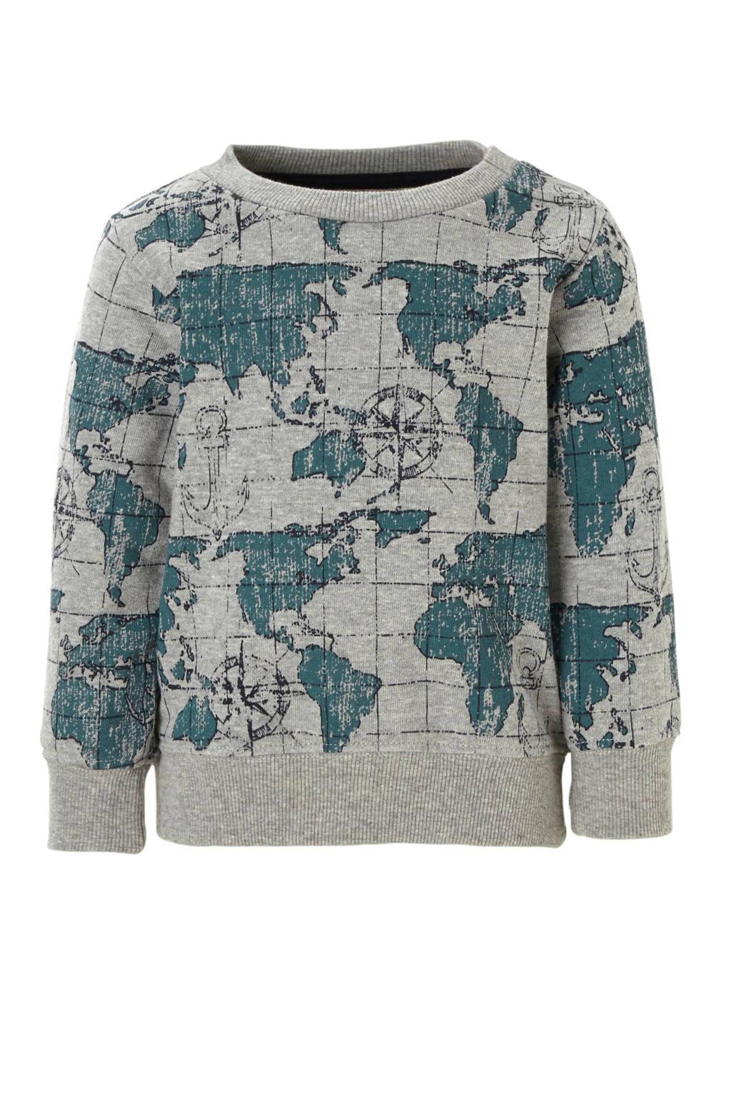 Small Rags sweater, Grijs melange
