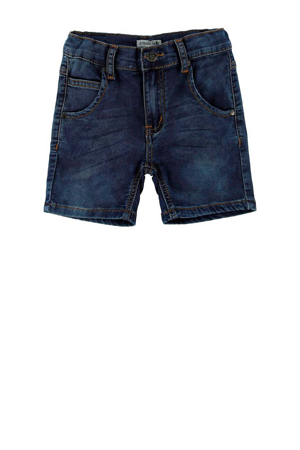Small Rags jeans bermuda, Dark denim