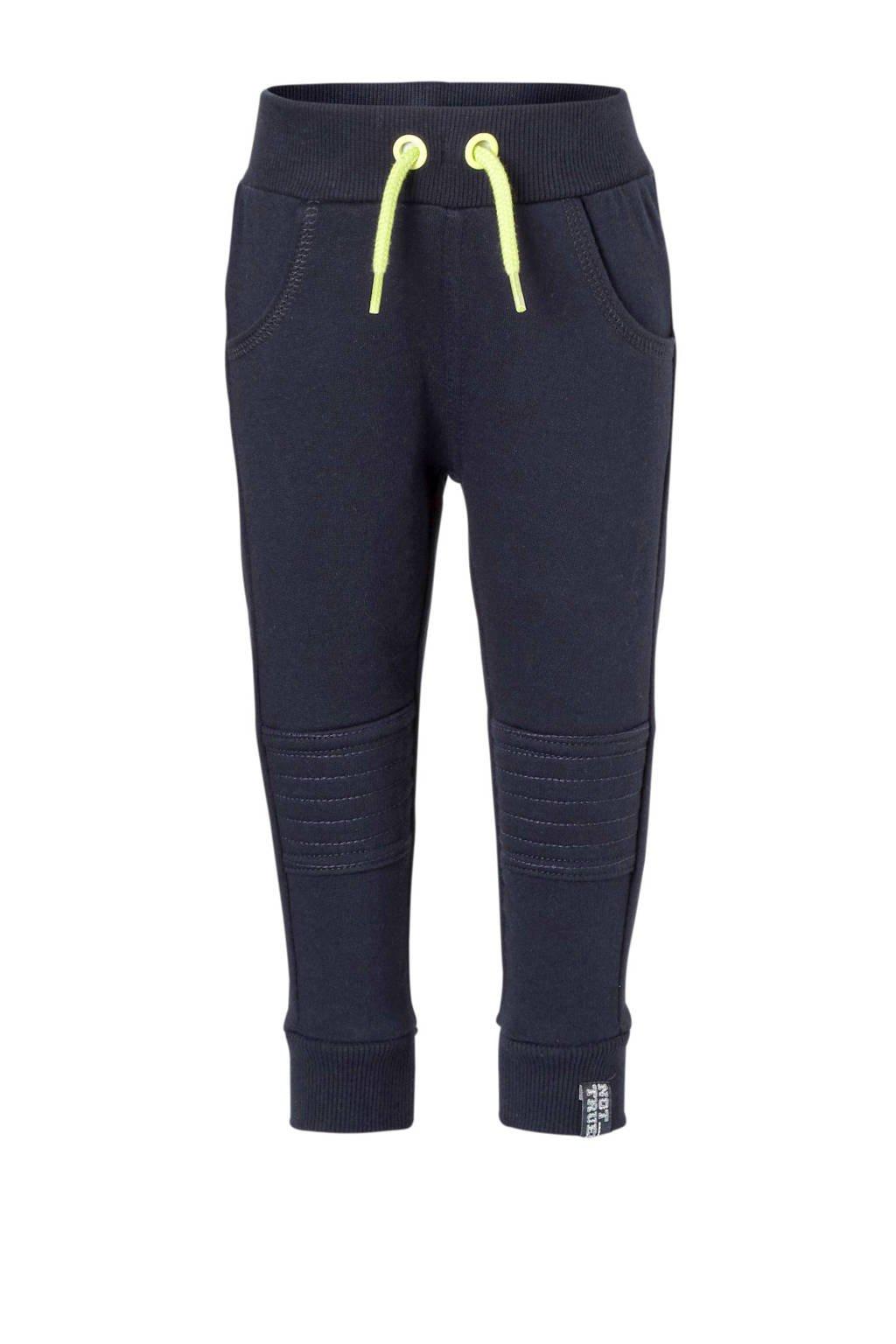 Dirkje   joggingbroek blauw, Donkerblauw