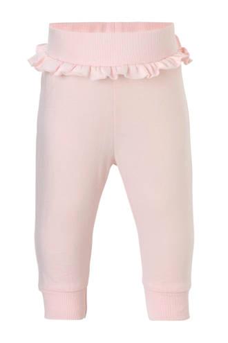 broek met ruches roze