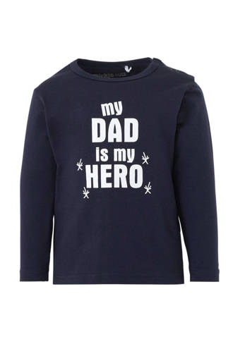 vaderdag longsleeve Dad marine