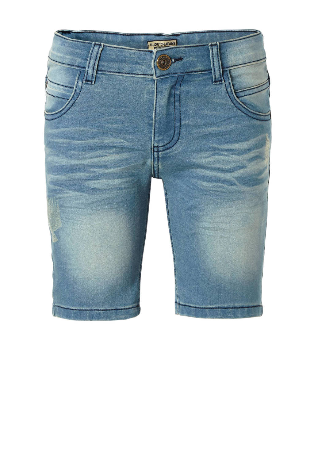 DJ Dutchjeans jeans bermuda, Blauw