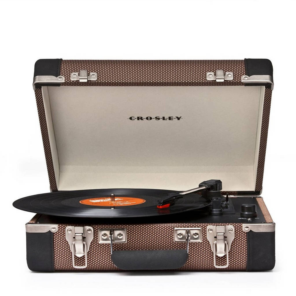 Crosley Executive  CR6019A-TW retro platenspeler bruin, Bruin