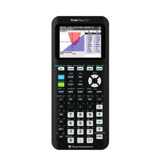 TI-84 Plus CE-T grafische rekenmachine