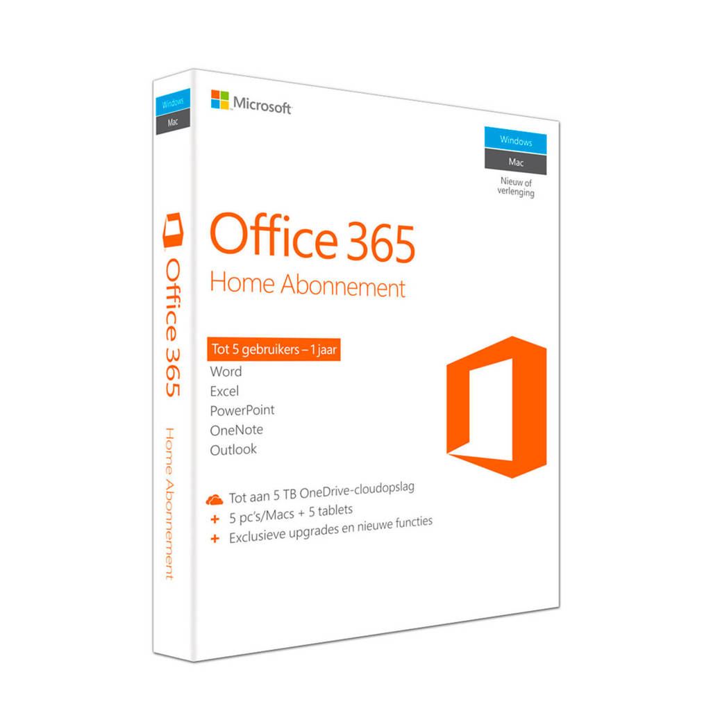 Microsoft Office 365 Home, -