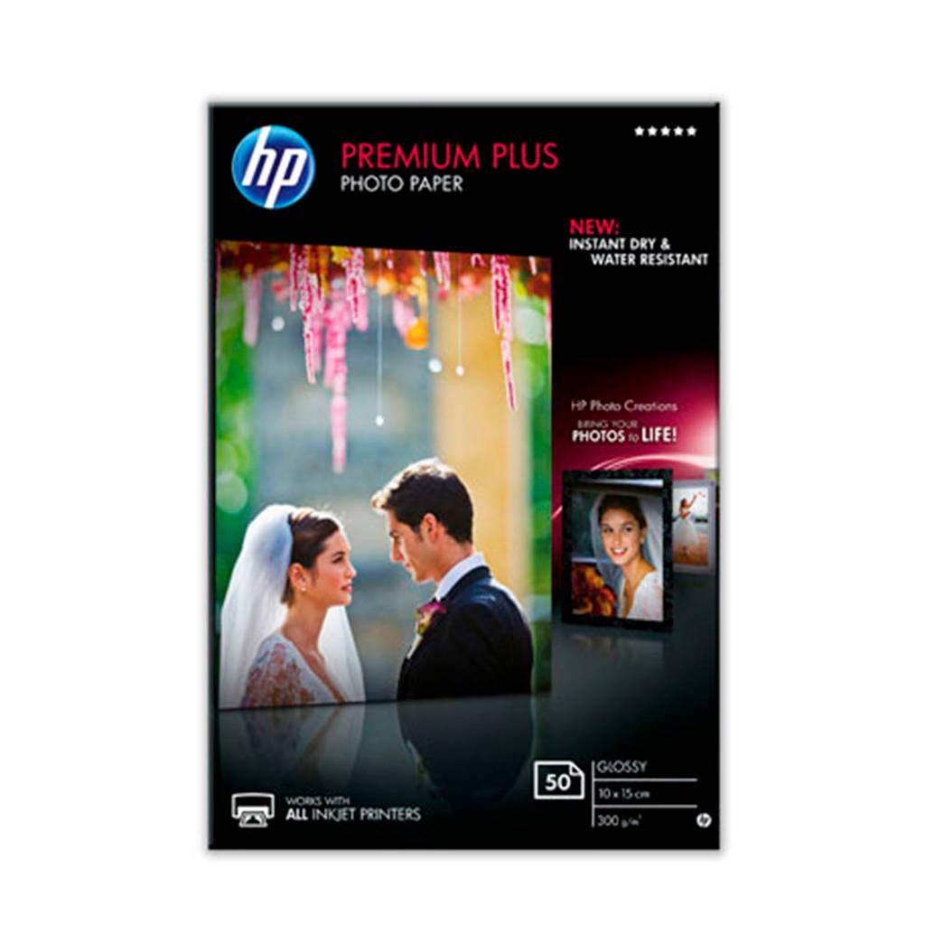 HP Premium Plus Glossy fotopapier, -