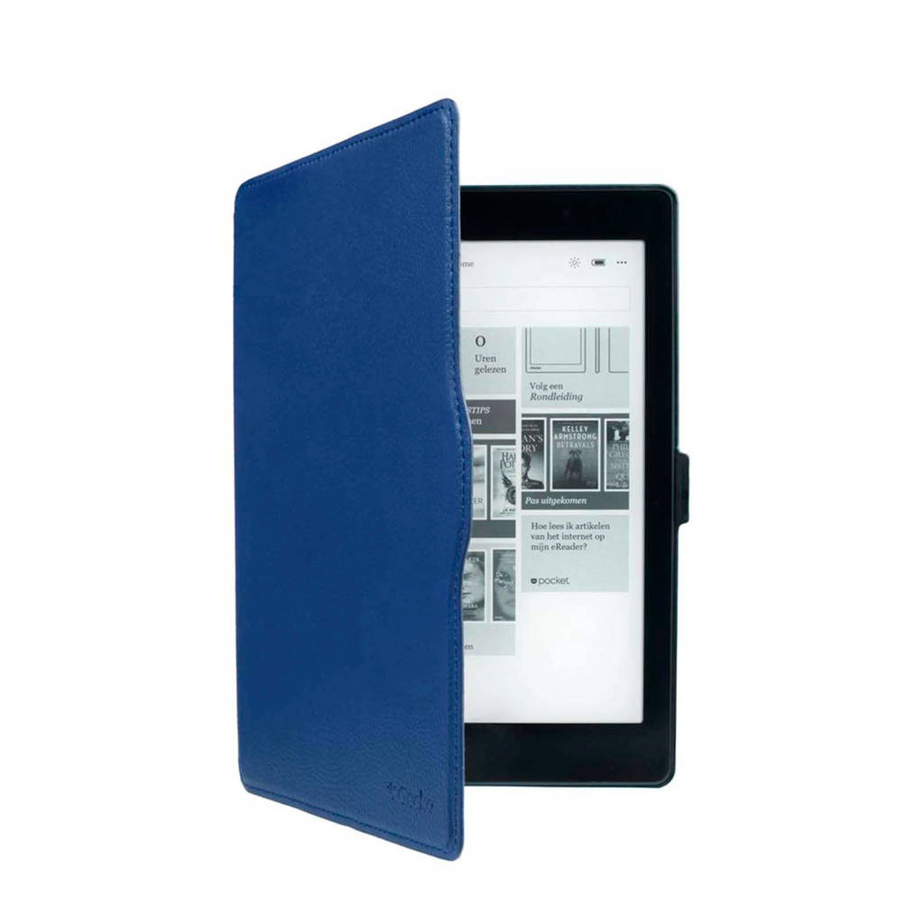 Gecko Covers Kobo Aura ONE Slimfit Waterproof e-reader hoes, Blauw