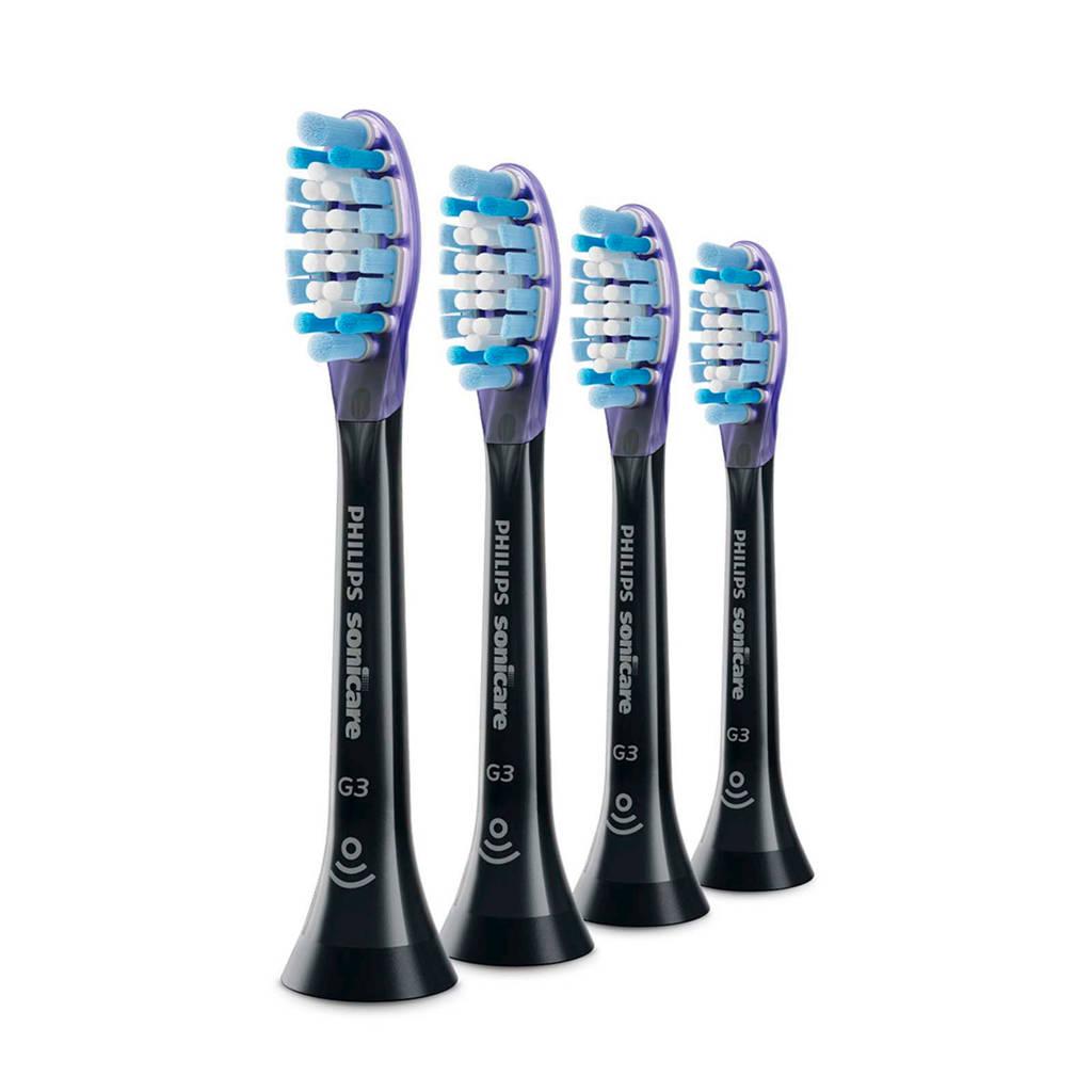 Philips HX9054/33 Premium Gum Care standaard opzetborstels (4 stuks), -