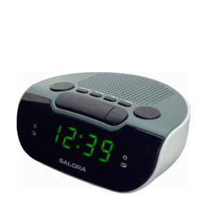 CR612 wekkerradio wit