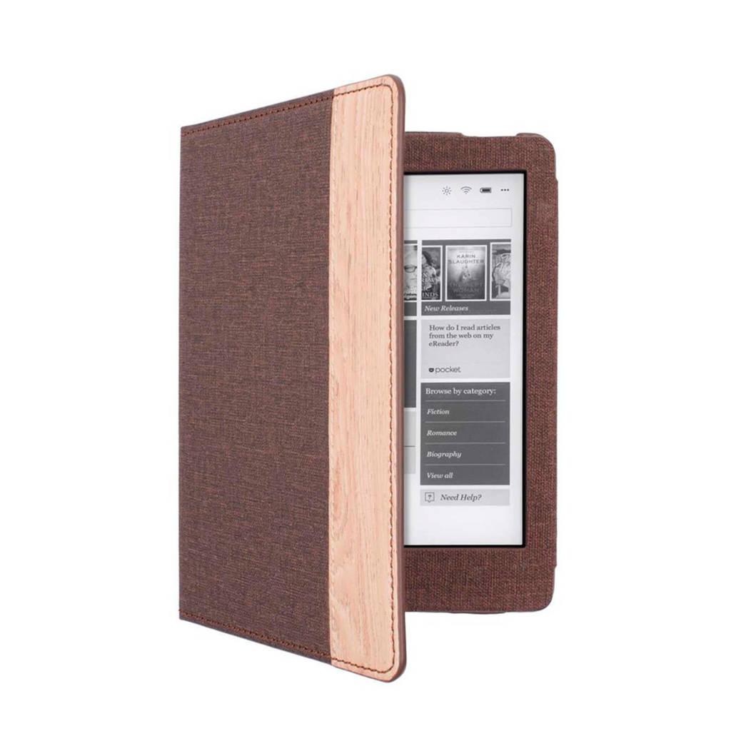 Gecko Covers Kobo Aura luxe e-reader hoes, Bruin
