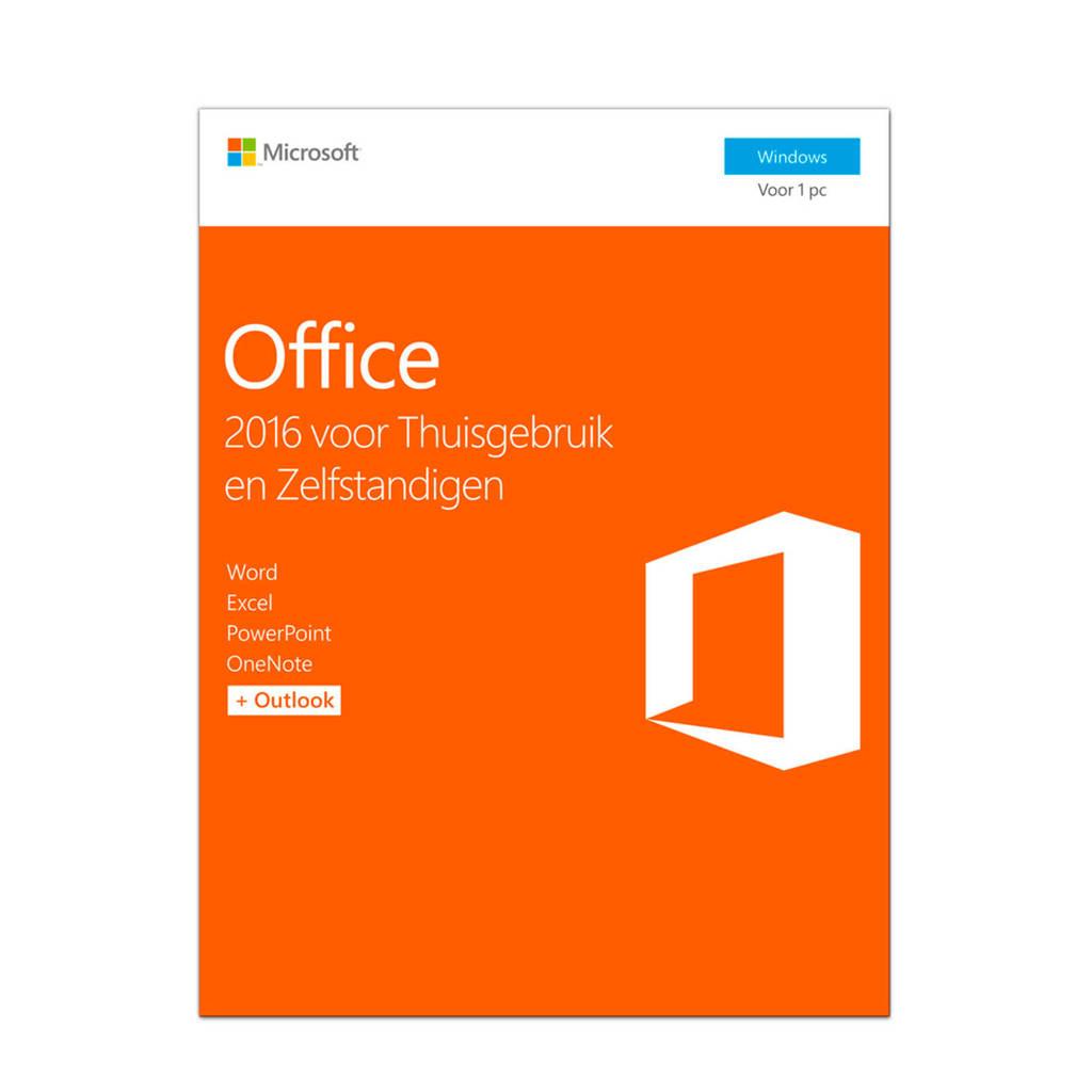 Microsoft Office 2016 voor Thuisgebruik en Zelfstandigen, -