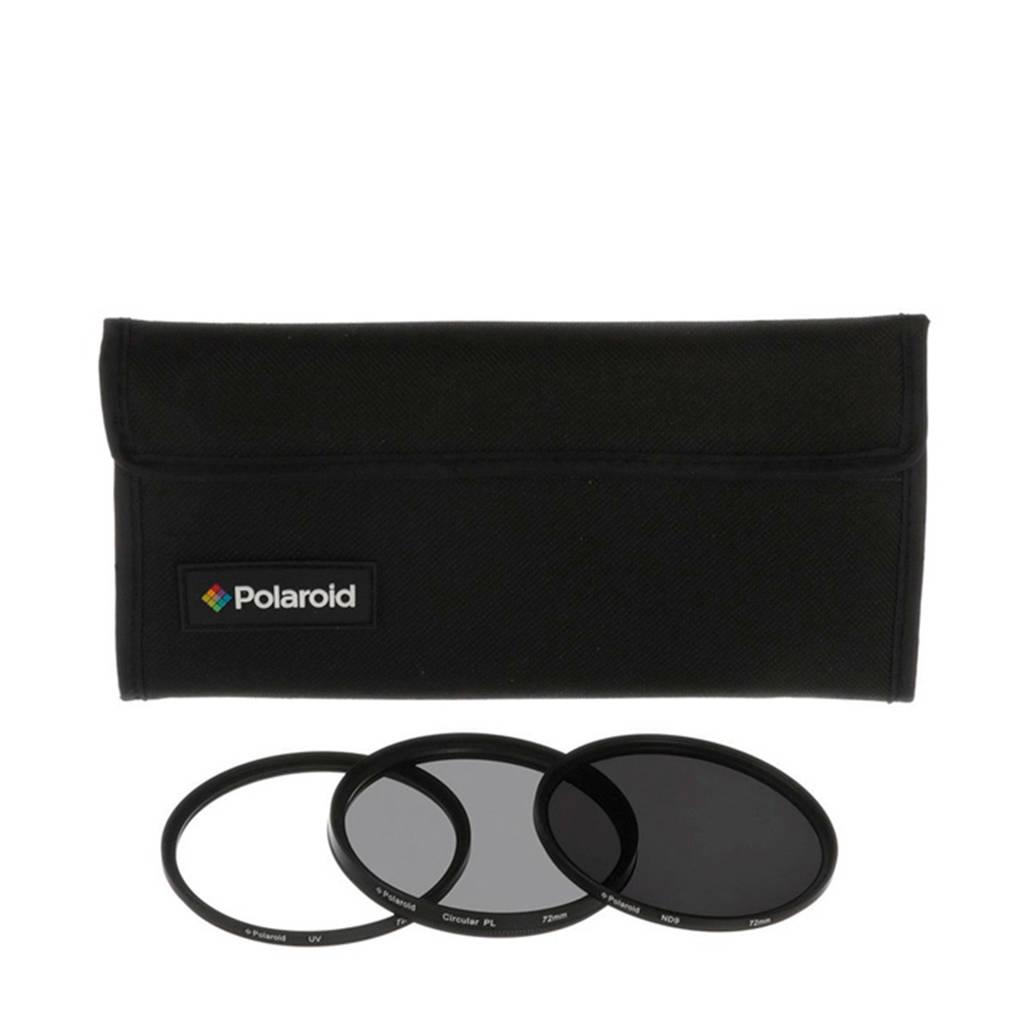 Polaroid 62mm filterkit, -