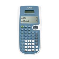Texas Instruments TI-30X Solar Multiview rekenmachine, wit, blauw