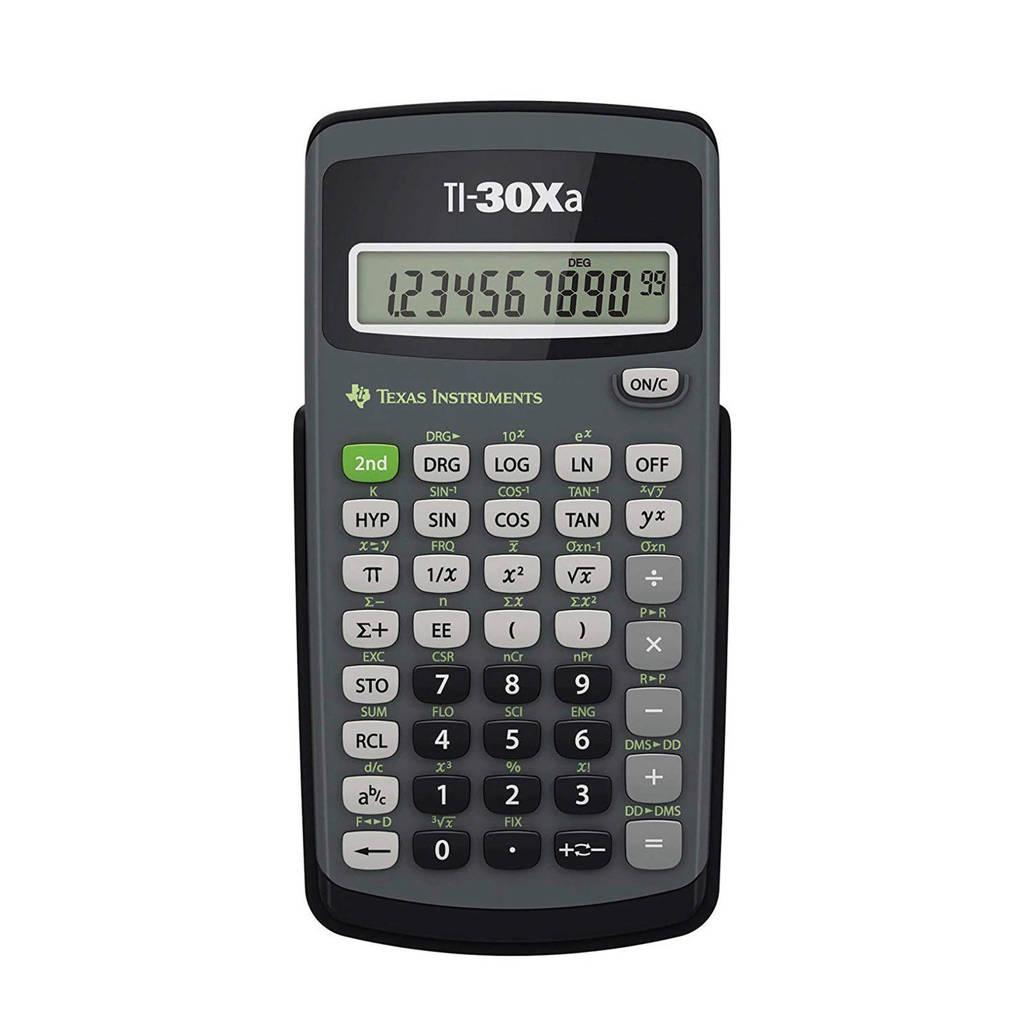 Texas Instruments TI 30XA rekenmachine, Grijs