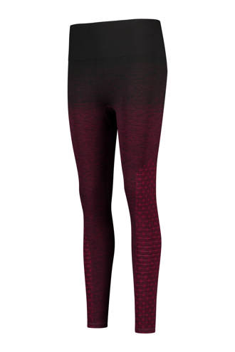 HKMX sportlegging high waist naadloos paars