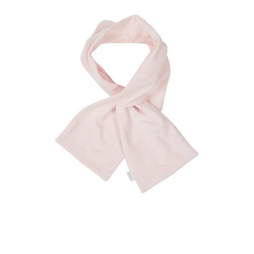 gestreepte sjaal Elwyn roze