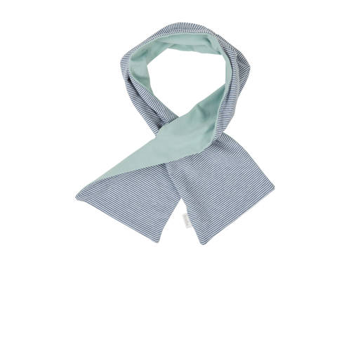 gestreepte sjaal Elwyn blauw