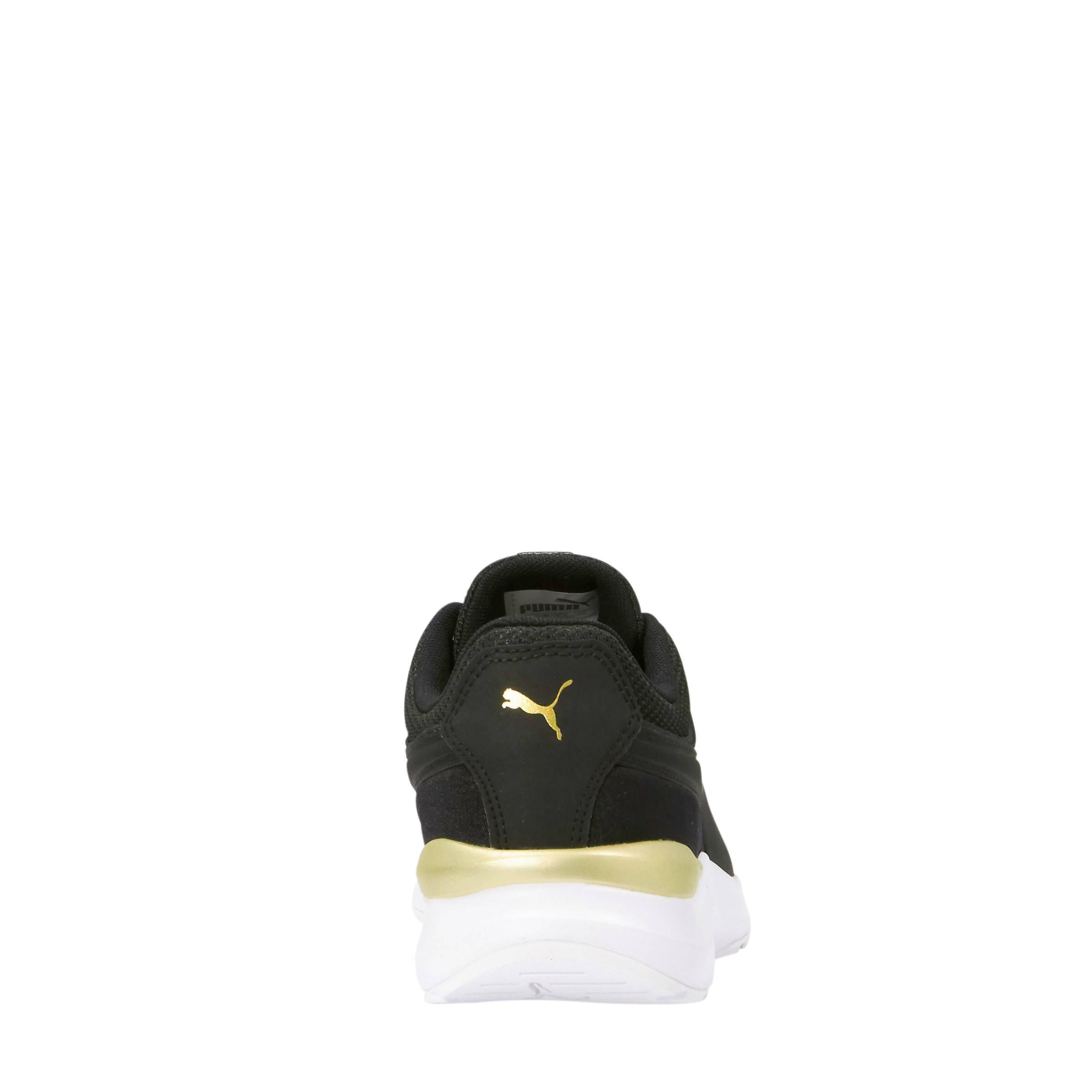 Adela sneakers zwart/goud
