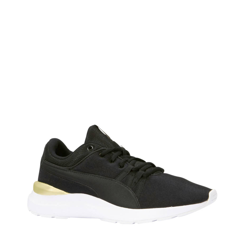 Puma   Adela sneakers zwart/goud, Zwart/goud