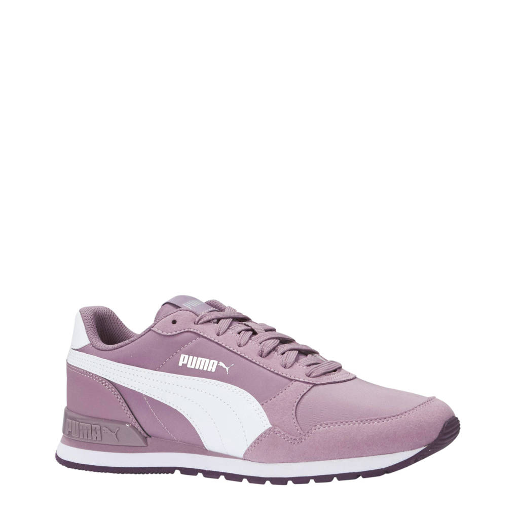 Puma  ST Runner v2 NL sneakers paars/wit, Paars/wit