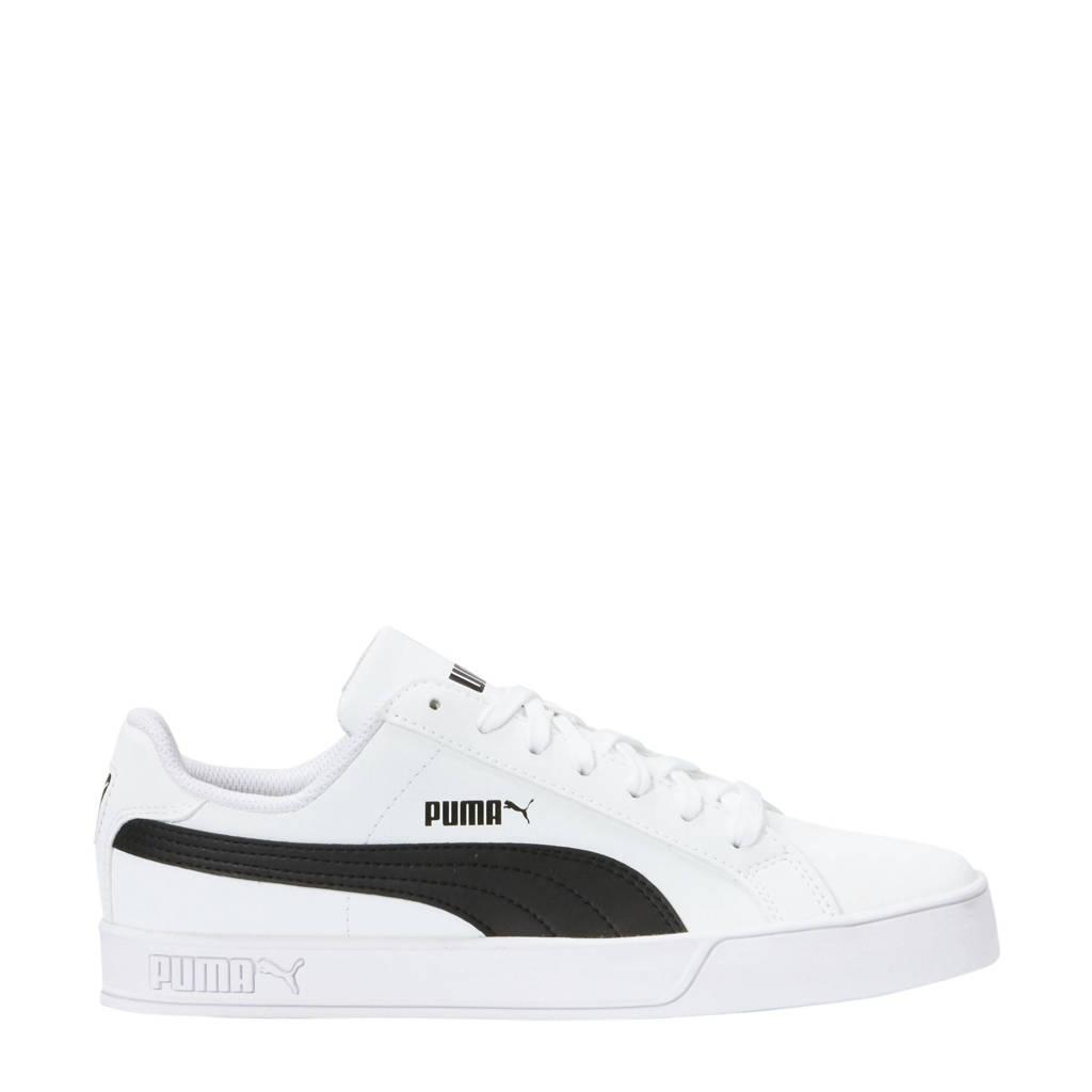 Vulc Sneakers Smash zwart Wit Puma p5Rwgqx