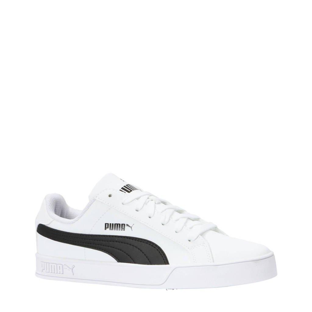 Puma   Smash Vulc sneakers wit/zwart, Wit/zwart