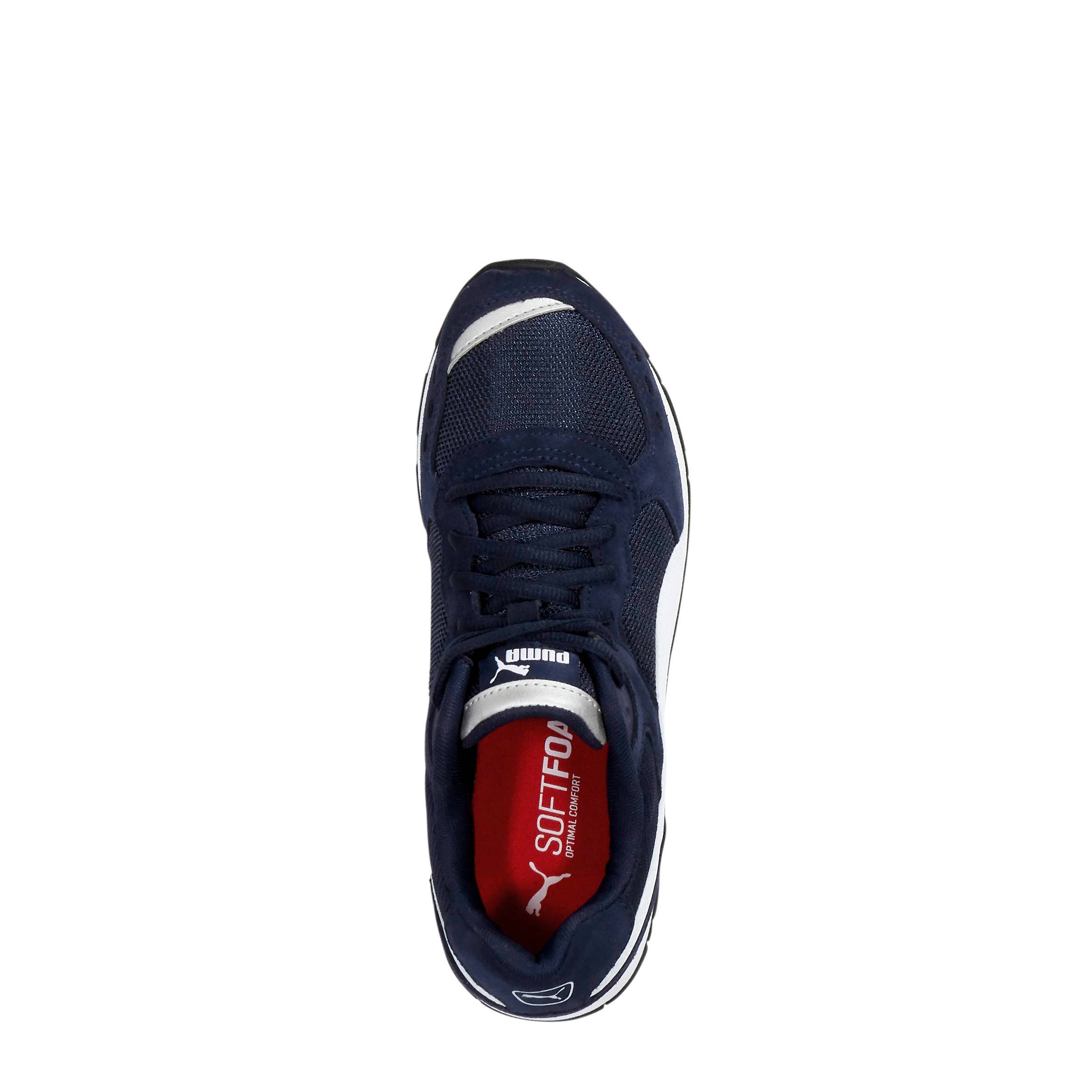 Vista sneakers donkerblauw/wit/rood